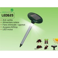 Aparat cu vibratii anti cartita, anti soareci, anti sobolani, anti popandai acopera 625 mp - Pestmaster LED625